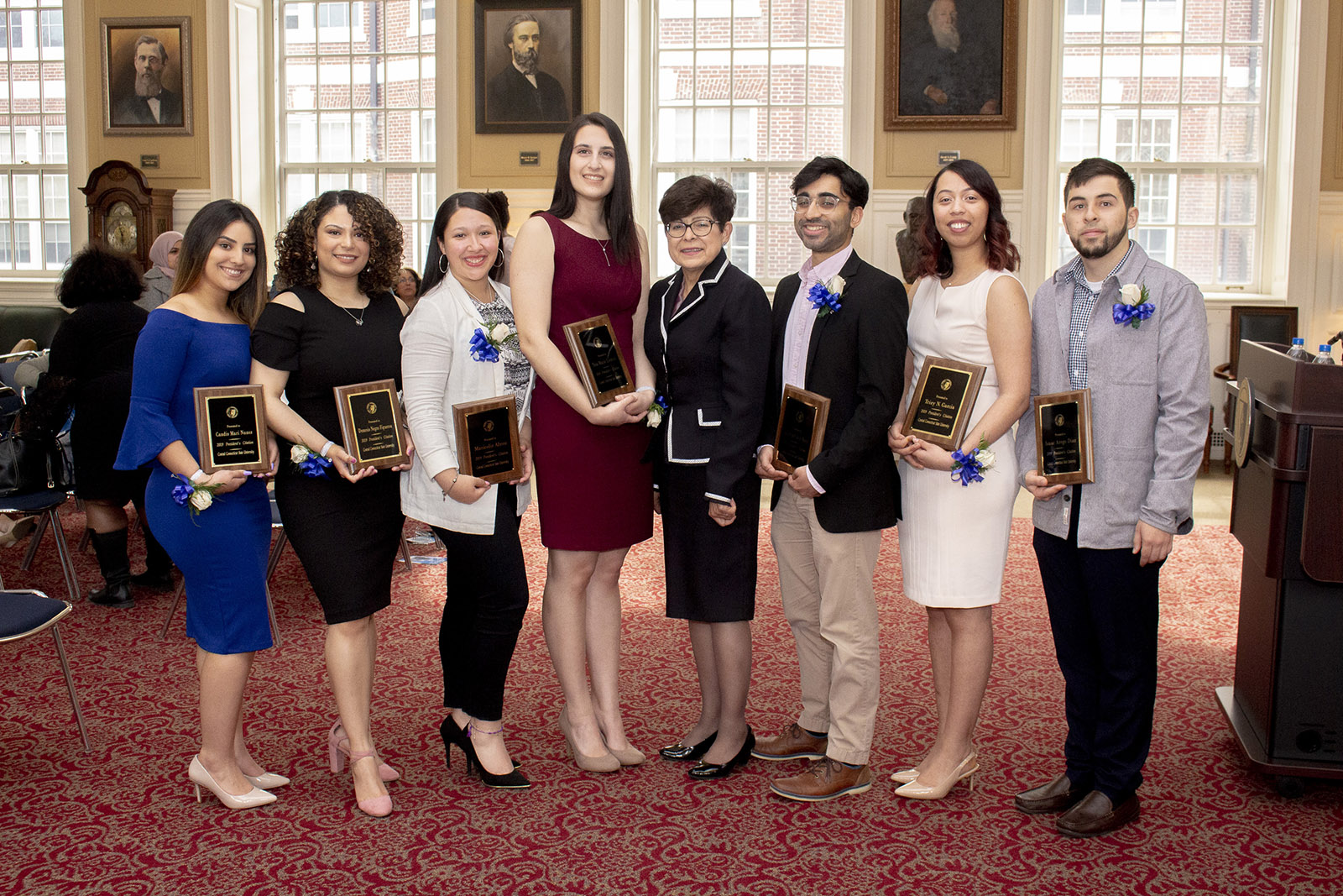Seven students earn President's Citation Award