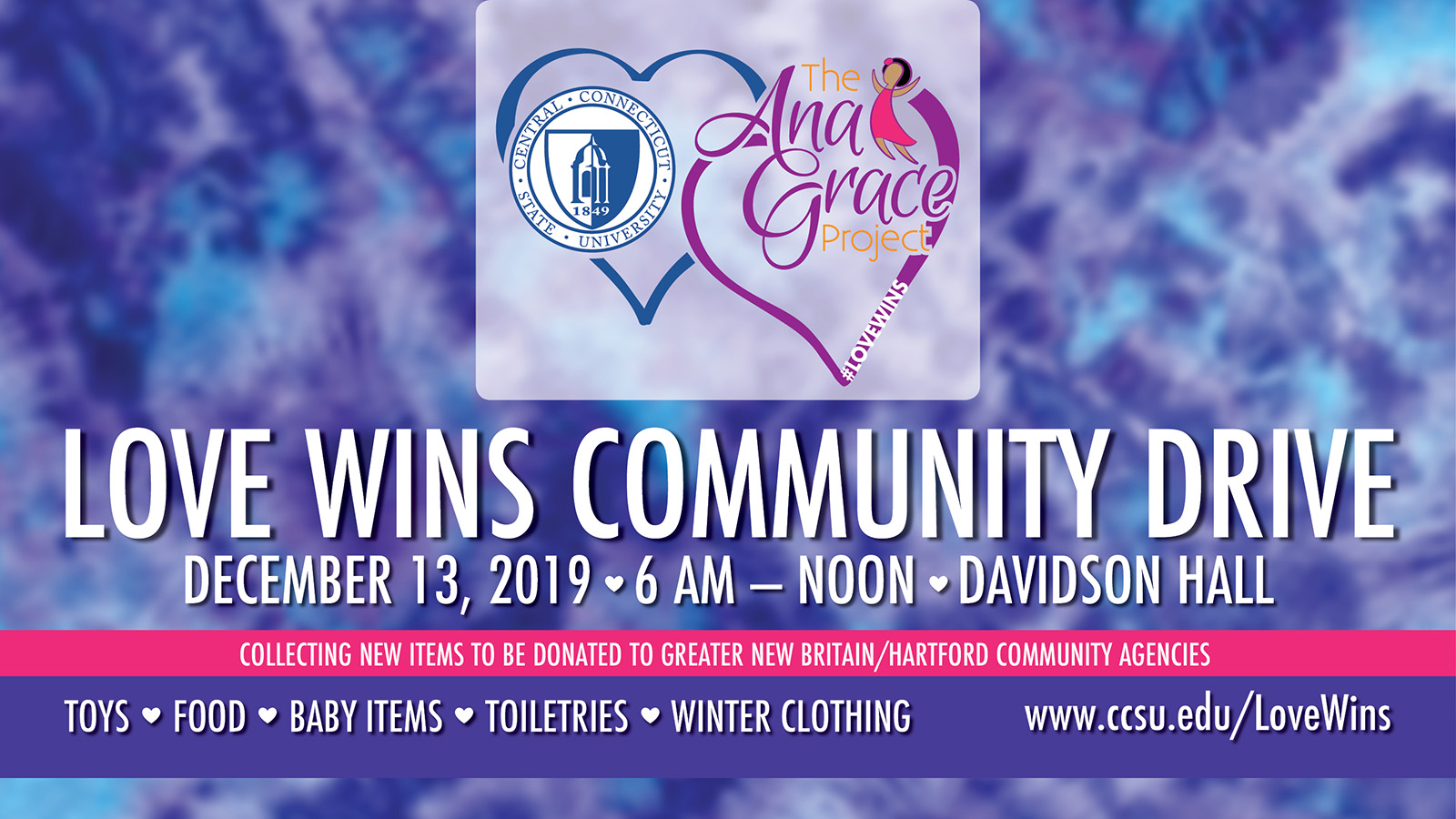 Community comes together for Love Wins drive