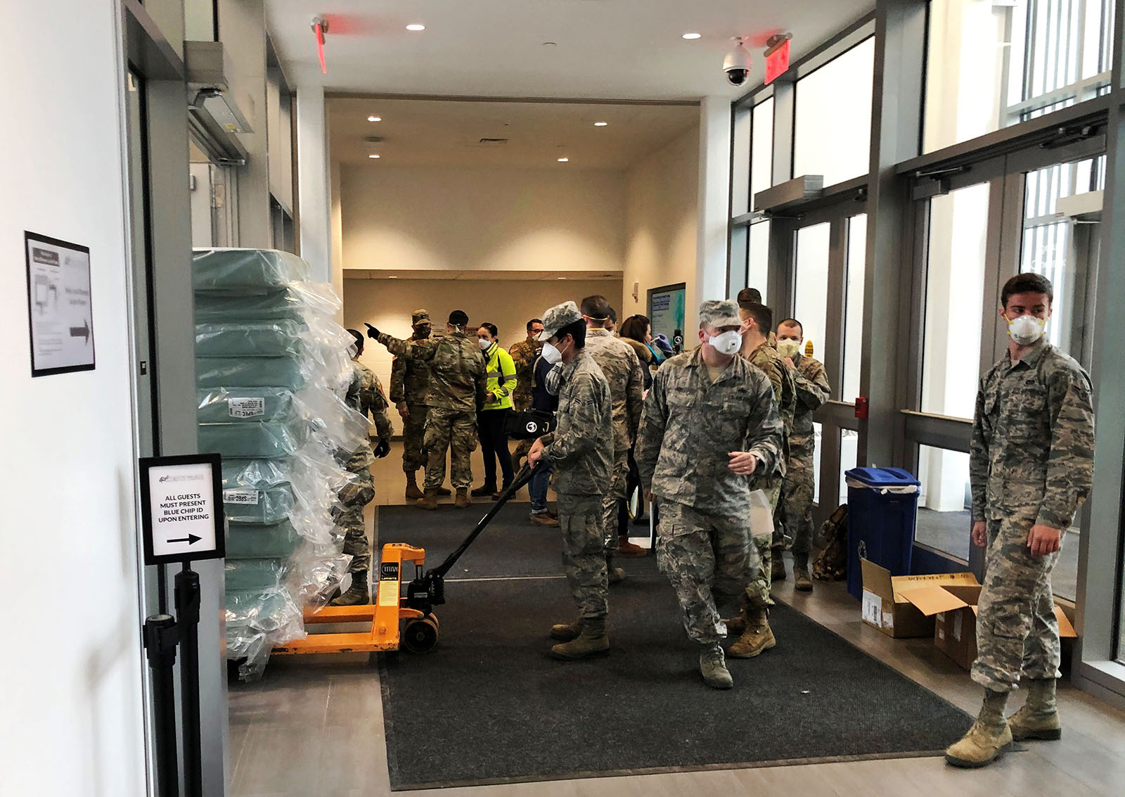 CT National Guard builds recovery center at CCSU