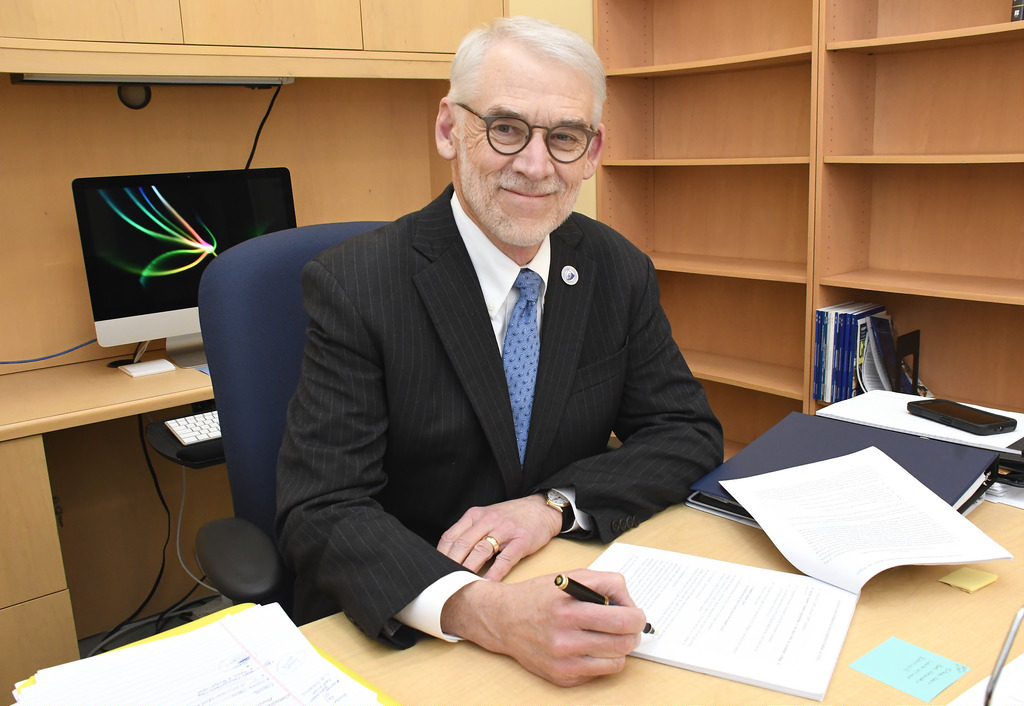 New provost Dr. David Dauwalder settles in at CCSU