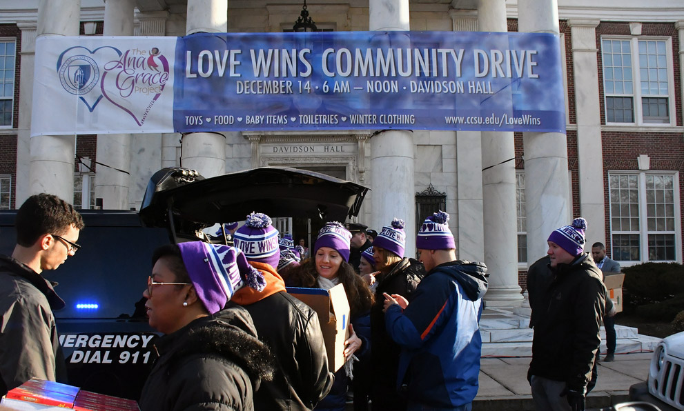 'Love Wins' the day at Dec. 14 community drive