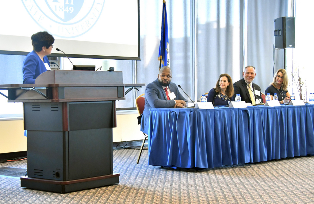 CCSU welcomes legislators to campus